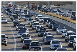 Covariance Traffic Jams