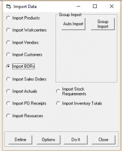 Data Integration with Excel plus ERP Systems