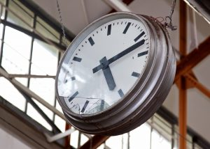 Production Scheduling Broken Factory Clock